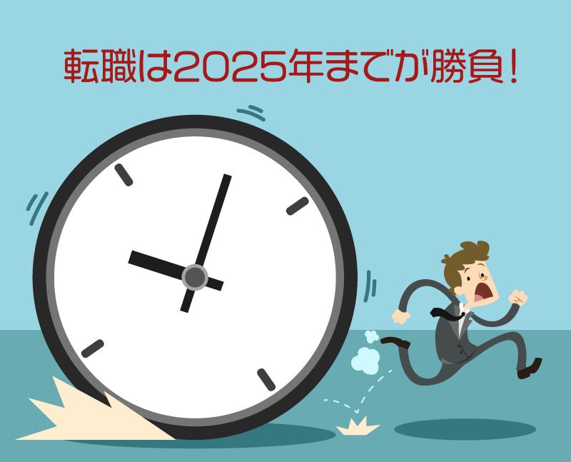 転職 2025年問題